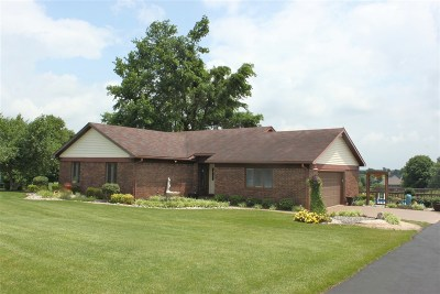 Elizabethtown Single Family Home For Sale: 636 Round Top Road