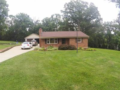Shepherdsville Single Family Home For Sale: 154 Lakeview Drive