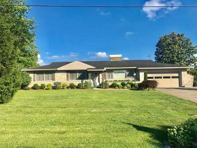 Campbellsville Single Family Home For Sale: 408 Lakeview Drive