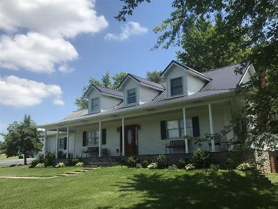 Elizabethtown Single Family Home For Sale: 1192 Overall Phillips Road