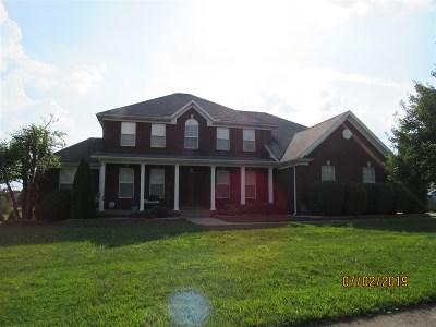 Elizabethtown Single Family Home For Sale: 124 Cedar Branch Road