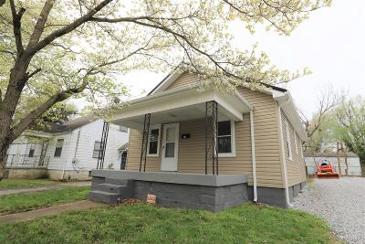 Elizabethtown KY Single Family Home For Sale: $89,900