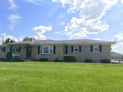 Larue County Single Family Home For Sale: 1386 Jericho Road
