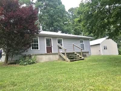 Munfordville Single Family Home For Sale: 72 Mt Beulah Loop