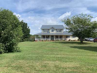 Campbellsville Single Family Home For Sale: 7559 Old Lebanon Road