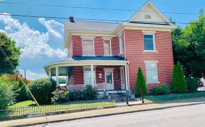 Campbellsville Single Family Home For Sale: 121 S Court Street