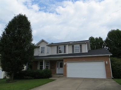 Elizabethtown KY Single Family Home For Sale: $224,900