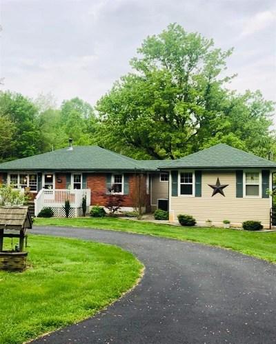 Meade County, Bullitt County, Hardin County Single Family Home For Sale: 2345 Rock Ridge Road