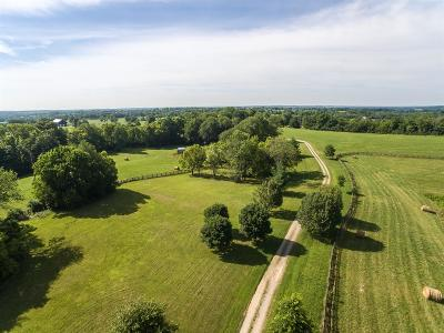 Anderson County, Fayette County, Franklin County, Henry County, Scott County, Shelby County, Woodford County Farm For Sale: 2475 Delaney Ferry Road