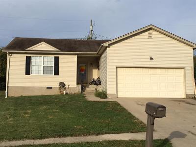 Lawrenceburg Single Family Home For Sale: 236 Hunter Ridge