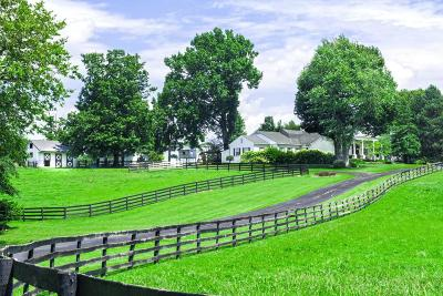 Anderson County, Fayette County, Franklin County, Henry County, Scott County, Shelby County, Woodford County Farm For Sale: 5493 Versailles Road