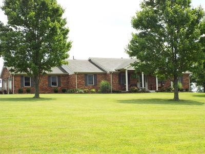 Harrodsburg Single Family Home For Sale: 1905 Danville Road