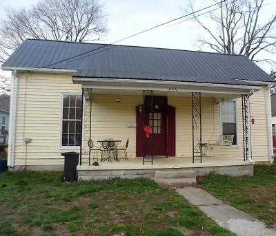 Frankfort KY Single Family Home For Sale: $59,900