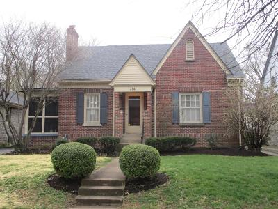 Single Family Home For Sale: 314 Dudley