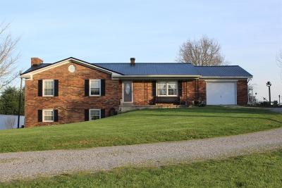 Cynthiana Single Family Home For Sale: 1695 West Highway 62