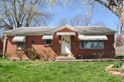 Versailles Single Family Home For Sale: 314 Hillcrest Drive