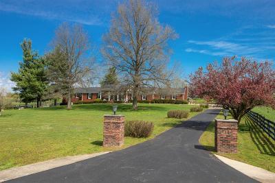 Harrodsburg Single Family Home For Sale: 827 Talmage-Mayo Road