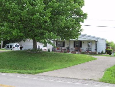 Cynthiana Single Family Home For Sale: 5393 South Us Highway 27