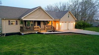 Harrodsburg Single Family Home For Sale: 610 Hughley