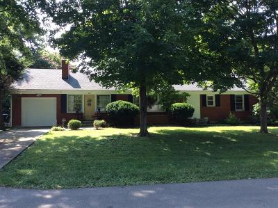 Lawrenceburg Single Family Home For Sale: 409 Greenview Drive