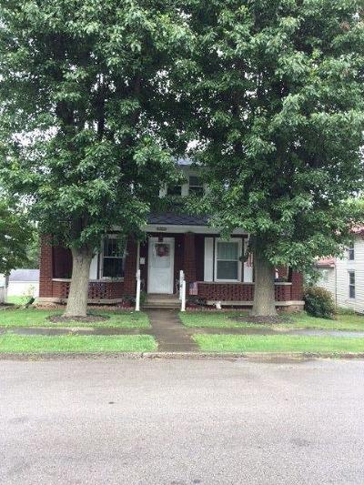Bourbon County Single Family Home For Sale: 222 Elizabeth Street
