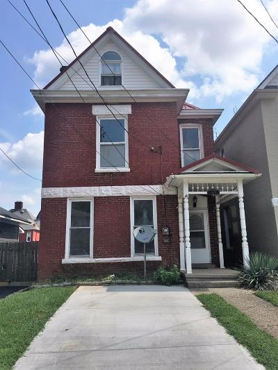 Single Family Home For Sale: 523 Maryland Avenue