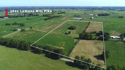 Anderson County, Fayette County, Franklin County, Henry County, Scott County, Shelby County, Woodford County Farm For Sale: 3601 Lemons Mil Pike