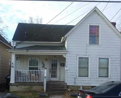 Frankfort Single Family Home For Sale: 505 West Broadway Street
