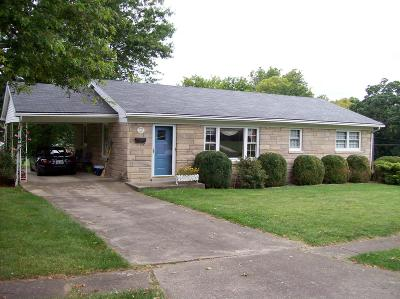 Cynthiana Single Family Home For Sale: 116 Confederate Drive