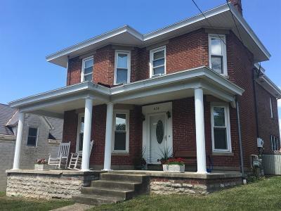 Cynthiana Single Family Home For Sale: 424 E Pike Street