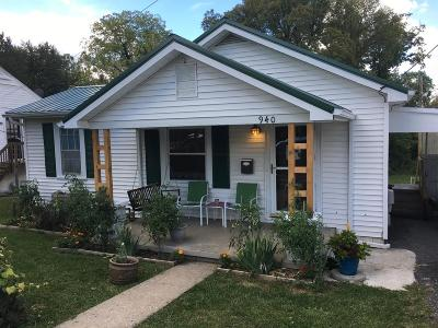 Frankfort Single Family Home For Sale: 940 Letcher Avenue