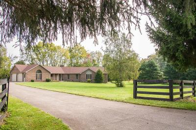 Frankfort Single Family Home For Sale: 1612 S Benson Road