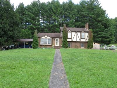 Barbourville Single Family Home For Sale: 393 Valentine Branch Road