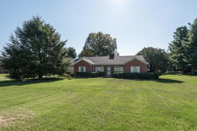 Versailles Single Family Home For Sale: 3273 Huntertown Road