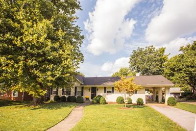 Lexington Single Family Home For Sale: 805 Providence Road