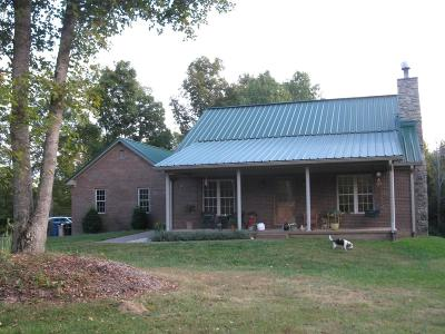 Single Family Home For Sale: 1483 Pigeon Fork Road