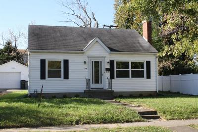 Single Family Home For Sale: 598 Stratford Drive