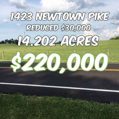 Anderson County, Fayette County, Franklin County, Henry County, Scott County, Shelby County, Woodford County Farm For Sale: 1 Newtown Pike