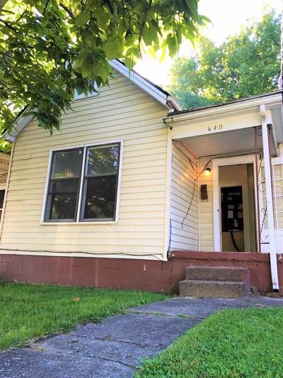 Lexington Single Family Home For Sale: 640 N Upper Street