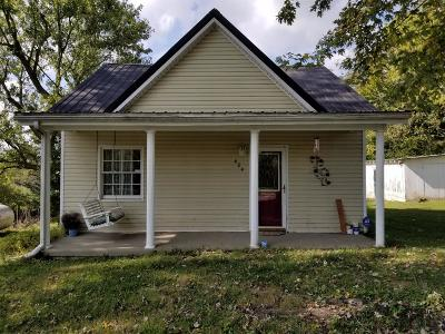 Single Family Home For Sale: 424 Newby Rd