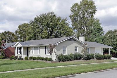Lexington Single Family Home For Sale: 745 Berry Lane