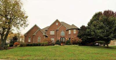 Nicholasville Single Family Home For Sale: 206 Golf Club Drive