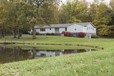 Danville Single Family Home For Sale: 3060 Webster Road