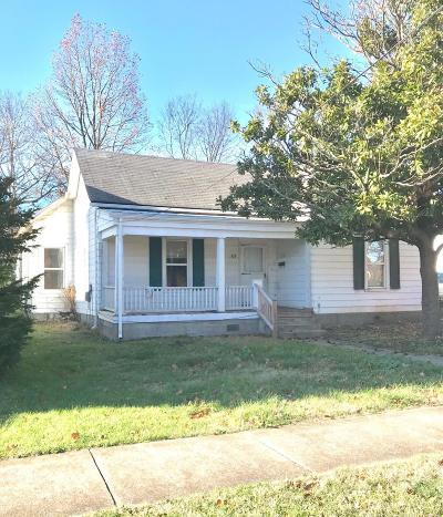 Nicholasville Single Family Home For Sale: 107 S 1st Street