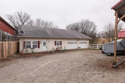 Lawrenceburg Single Family Home For Sale: 1793 Harrodsburg Road