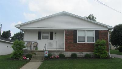 Cynthiana Single Family Home For Sale: 471 Pleasant Street