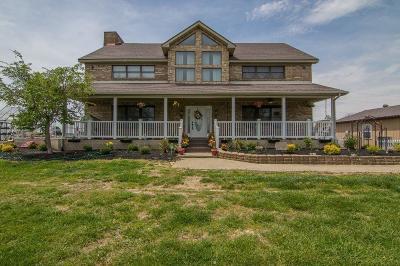 Harrodsburg Single Family Home For Sale: 2512 Bohon Road