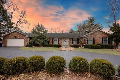 Single Family Home For Sale: 3206 Tates Creek Road