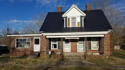 Harrodsburg Single Family Home For Sale: 4555 Cornishville Road