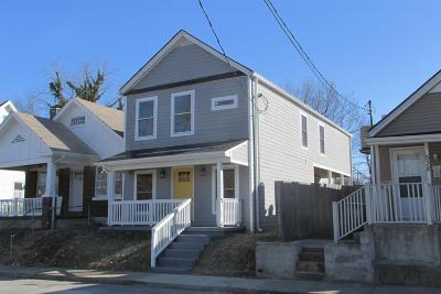 Single Family Home For Sale: 540 N Upper Street